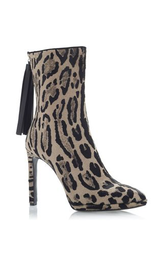 Leopard Ankle Boot by ROBERTO CAVALLI for Preorder on Moda Operandi