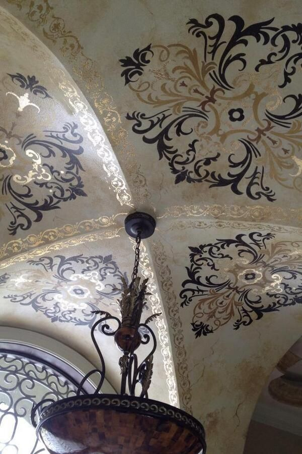 194 best Stenciled and Painted Ceilings images on Pinterest