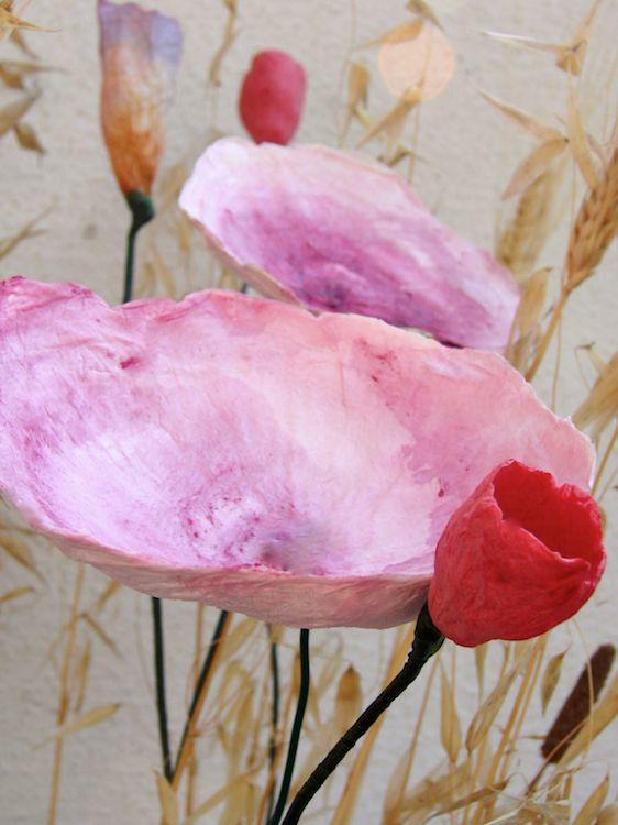 matrimonio-eco friendly-green-vegan-country-fiori-carta-wedding-paper flowers-rosso
