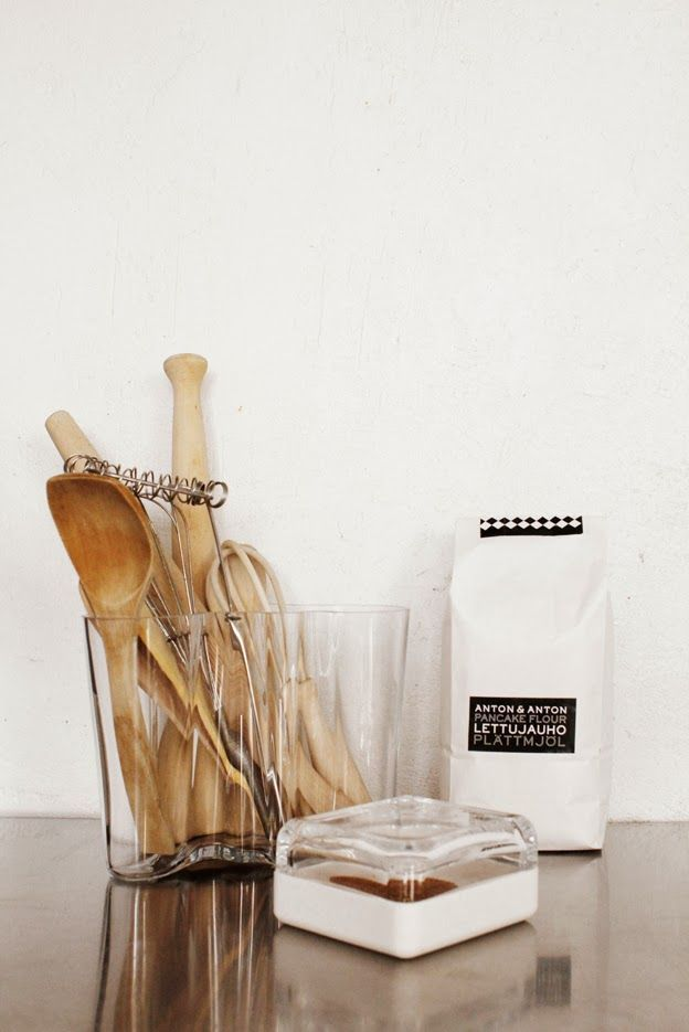 Great for holding all those cooking utensils in the kitchen, Aalto vase cool storage solution, not just a vase!