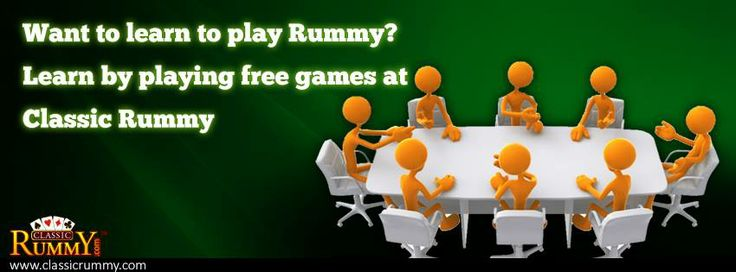 Want to learn to #play #rummy? Learn by playing #free #games at classic rummy  https://www.classicrummy.com/how-to-play-rummy?link_name=CR-12