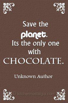 Save the planet...  http://www.kitchennostalgia.com/desserts/cakes/nutella-oreo-cheesecake.html#savetheplanet