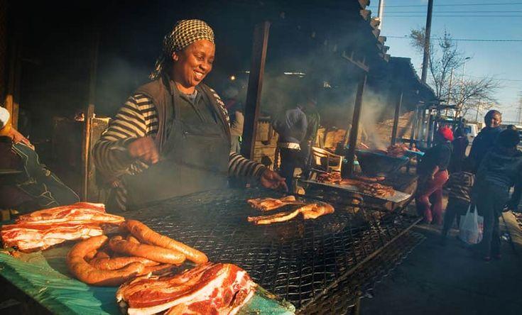 Fantastisk street food finns på Idada Avenue i Kapstaden.