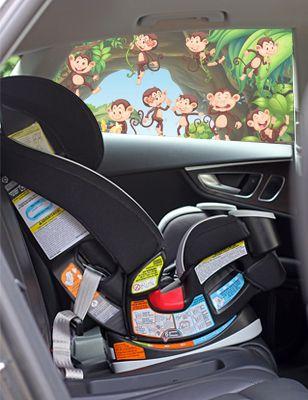 Monkeys Car Shade