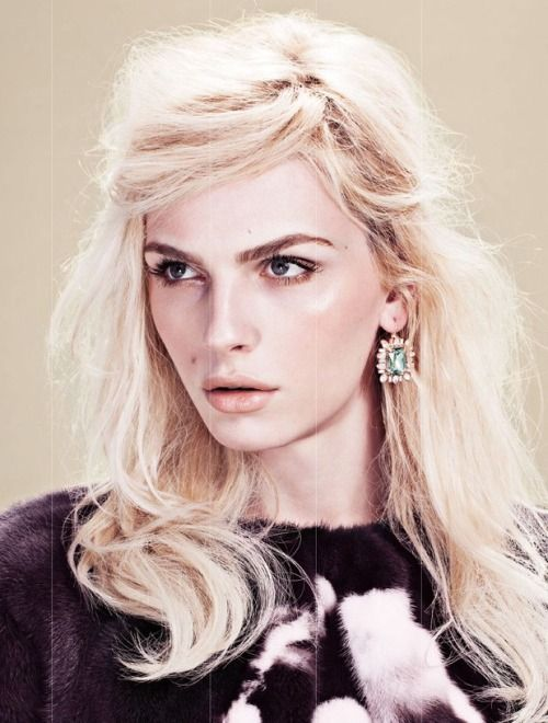 Andrej Pejic by Zoey Grossman for TWELV Magazine.  I weep with emotion of how much beauty there !!! Be a man and woman united in harmony !!! (Chloe Sissi)