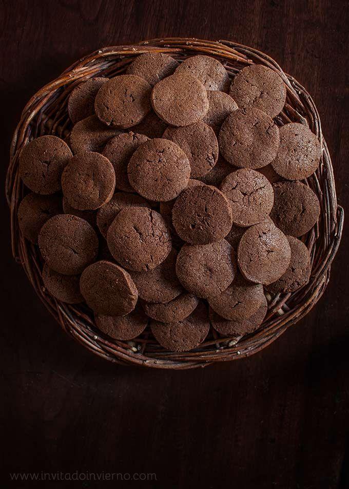 galletas de chocolate sencillas