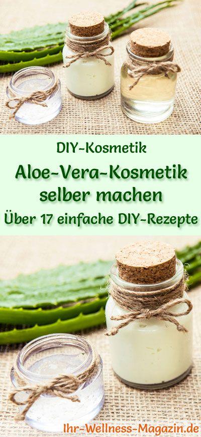 Aloe Vera Creme Selber Herstellen : aloe vera kosmetik selber machen 20 rezepte und ~ Watch28wear.com Haus und Dekorationen