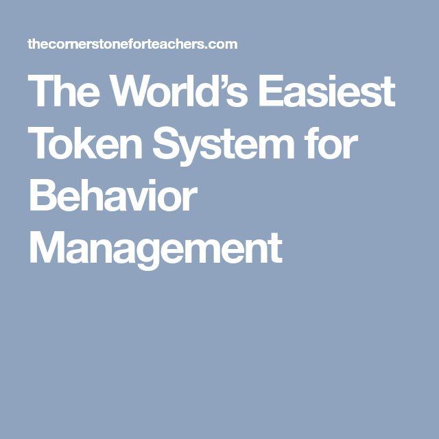 The World's Easiest Token System for Behavior Management