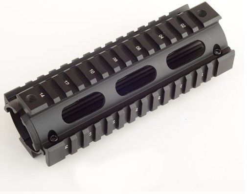 6.7 Inch Tactical Hunting Shooting AR-15 M4 Rifle Carbine Weaver/Picatinny Quad Rail Handguard For Airsoft Free Shipping