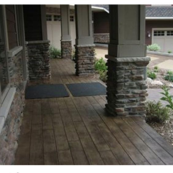 Concrete Stain To Look Like Wood Decorating Ideas Concr