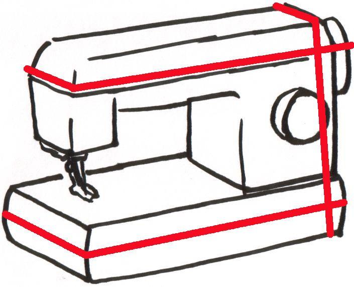 мастер-класс, чехол, чехол для швейной машинки, сшить чехол для машинки, чехол на швейную машинку, как сшить чехол, крейзи, крейзи-пэчворк, пэчворк