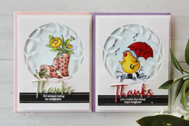 Simon Says Stamp Choose Joy Card Kit | Framed Up Thanks Cards