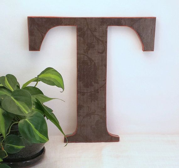 letter t rustic wall letter wood letter wall decor wood letter gallery wall decor rustic decor wooden letter wooden initial