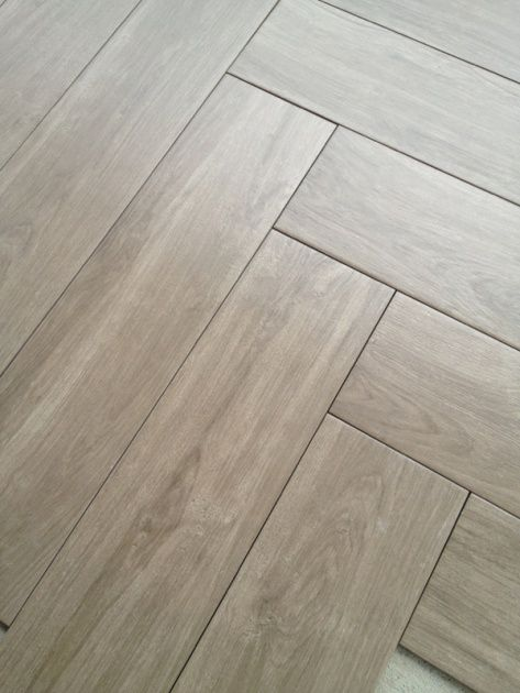 Herringbone Pattern Tile Floor Details Black Walnut Ceramic Tiles