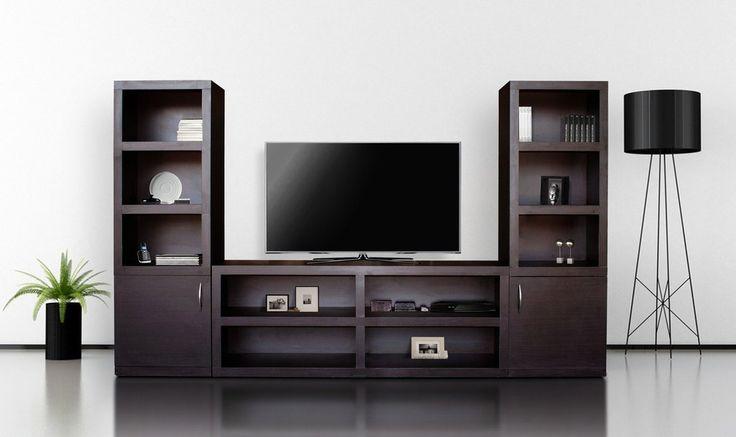 M s de 25 ideas incre bles sobre estanter as de tv en - Muebles para teles ...