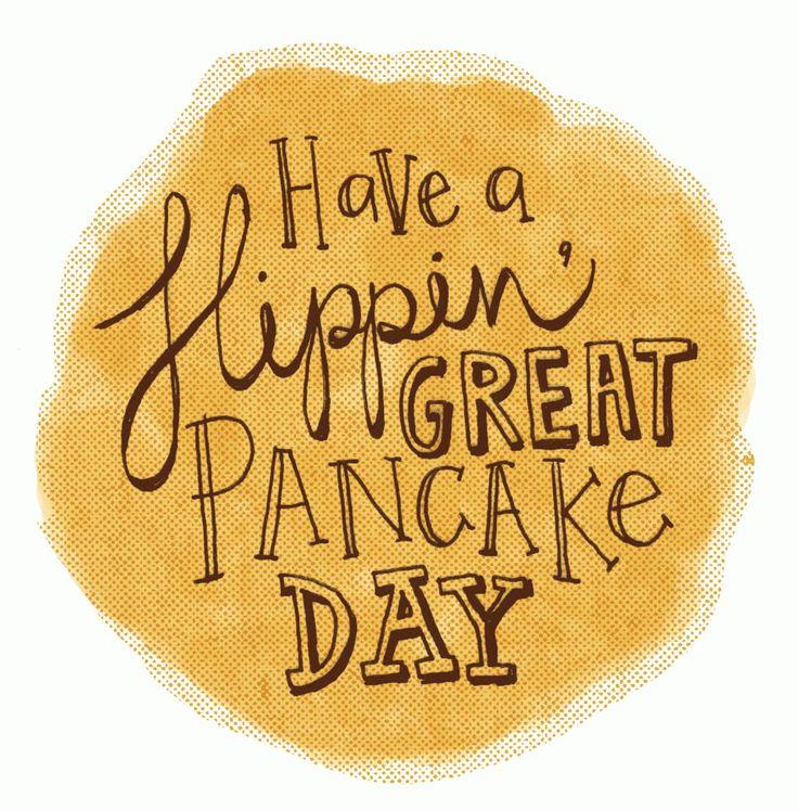 Flipping pancake time