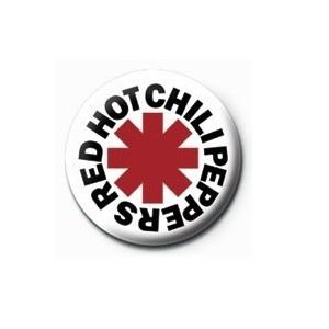 Pyramid International Rozet - Red Hot Chili Peppers (Logo) - 25 mm Rozet - BunlardanIstiyorum.com