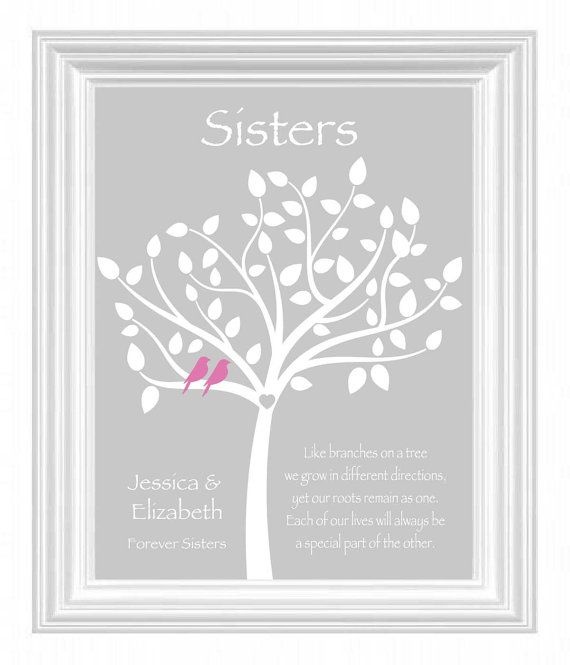 Wedding Gift Ideas For Sister : Sister Gift - Personalized Gift for Sister - Wedding Gift for Sister ...