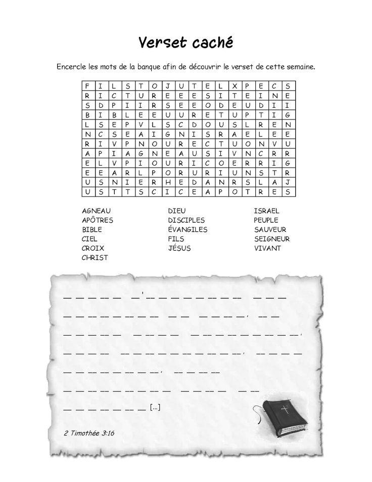 Classe du dimanche: Outils bibliques