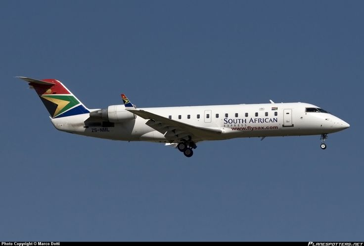 ZS-NML South African Express Airways Canadair CL-600-2B19 Regional Jet