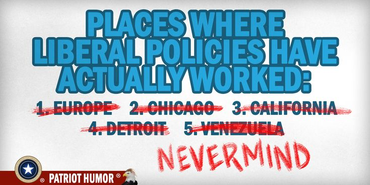 Where Liberal Policies Have Worked