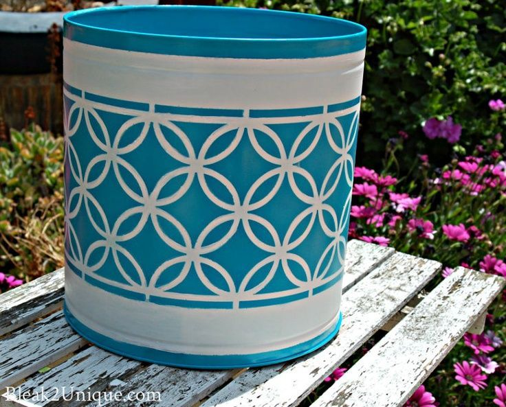 35 Best Popcorn Tin Upcycles Images On Pinterest