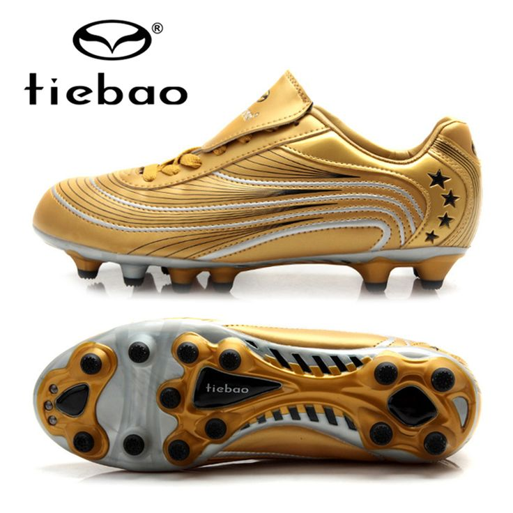 TIEBAO Professional Adults Outdoor Football Shoes Men Athletic Training Sneakers Soccer Cleats Shoe AG Soles Chuteira Futebol