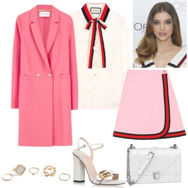 TPT: L by tynabrookler on Polyvore featuring мода, Gucci, Harris Wharf London and GUESS