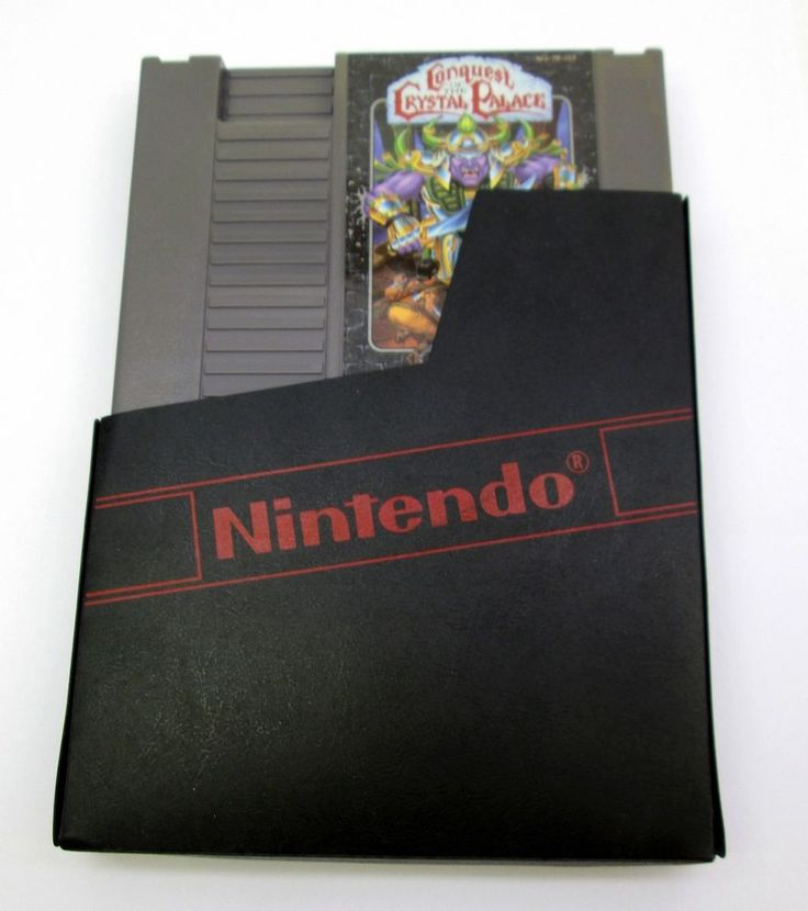 Conquest Of The Crystal Palace Original Nintendo NES w/sleeve Works Ships Fast | eBay