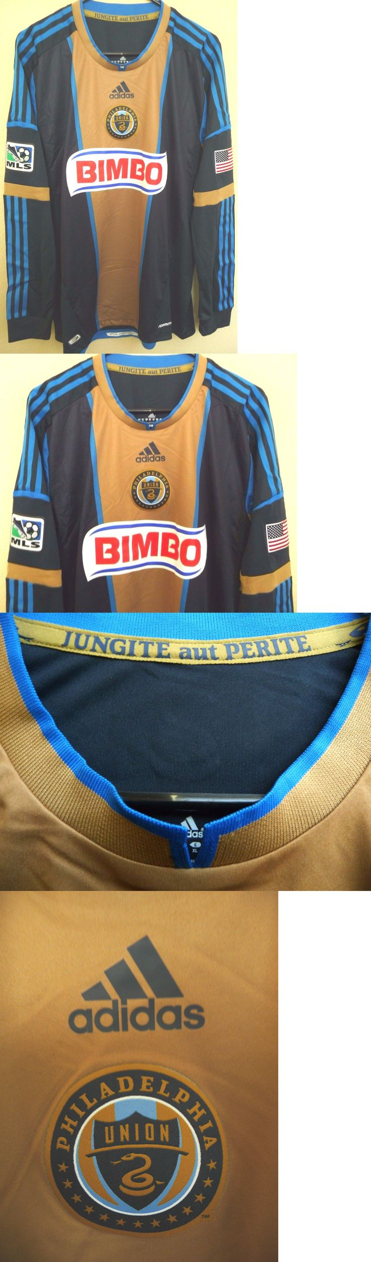 Soccer-MLS 2888: Mls Adidas Philadelphia Union 2013 Authentic Long Sleeve Soccer Jersey Xl New -> BUY IT NOW ONLY: $74.95 on eBay!