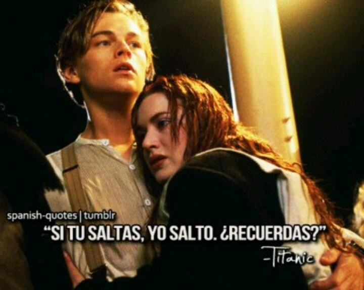 Si tu saltas, yo salto...#Titanic