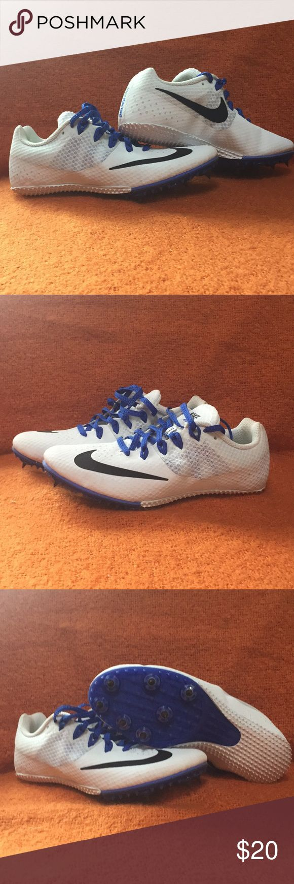 Sprinting spikes size 7 womens Used once at practice Nike Shoes Athletic Shoes
