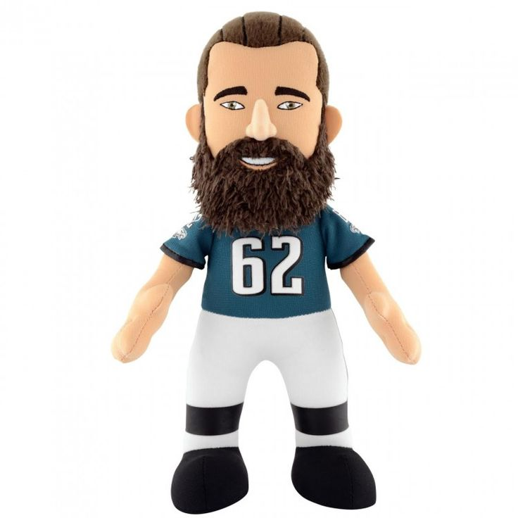"Philadelphia Eagles® Jason Kelce 10"" Plush Figure"