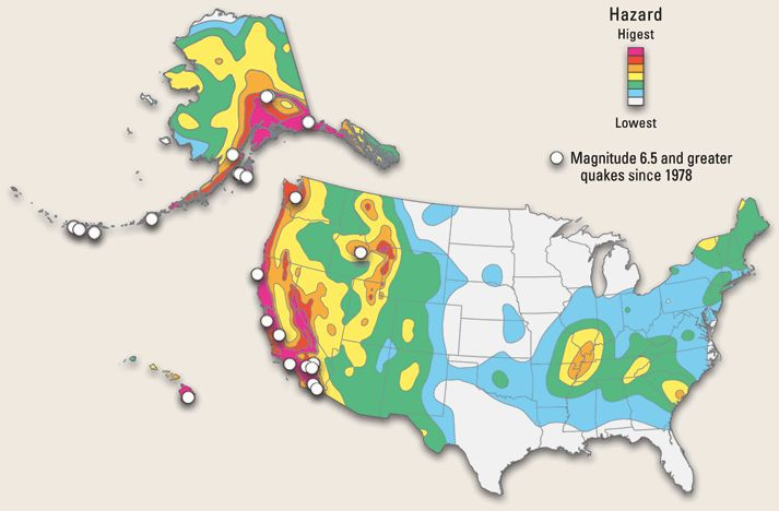 Do you know how at risk your state is for an earthquake? Make sure your family is prepared.