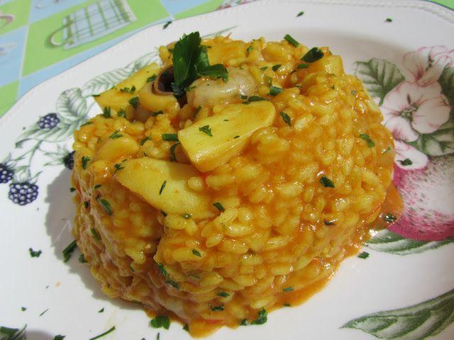 arroz con sepia