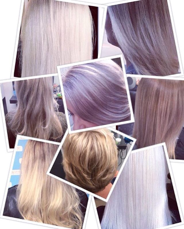 Some work i did. Blonde colors ❄️