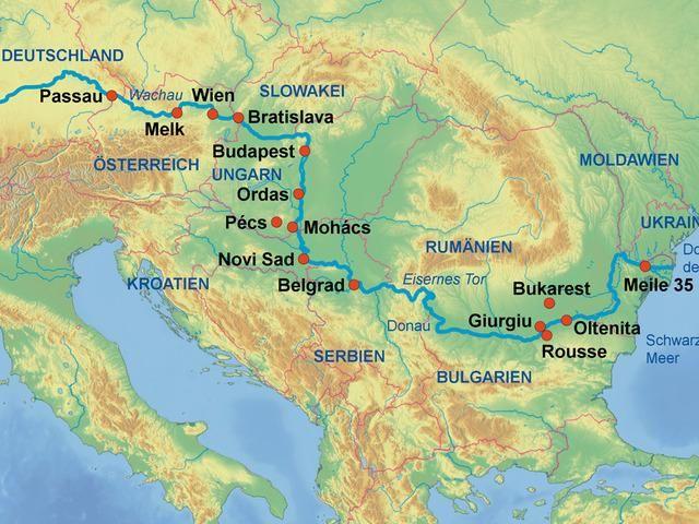 Super Last-Minute Angebot: Kreuzfahrt Wien-Donau Delta-Wien mit MS Steaua Dunarii! Eine von den wenigen Kreuzfahrten mit Einschiffung in Wien!