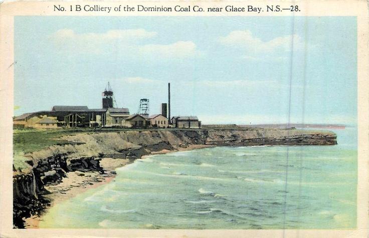 No. 1B Colliery-Dominion Coal Co.-Glace Bay-Cape Breton-1925 http://capermemories.com
