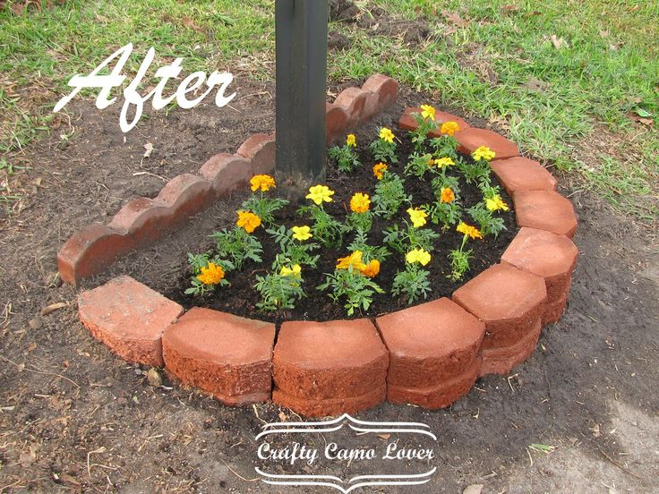 mailbox landscaping ideas | think it turned out really nice, don't you? :)