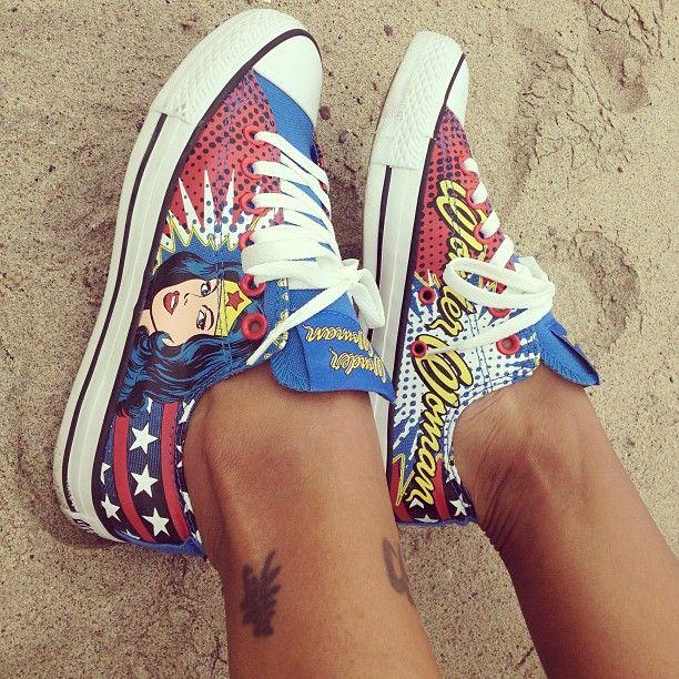 Converse All Star Lo Wonder Woman Athletic Shoe, Wonder Woman | Journeys Shoes