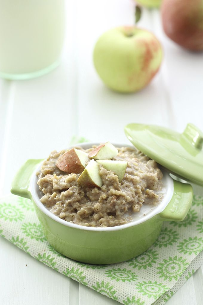 Slow Cooker Apple Pie Steel-Cut Oatmeal | Recipe | Pies ...