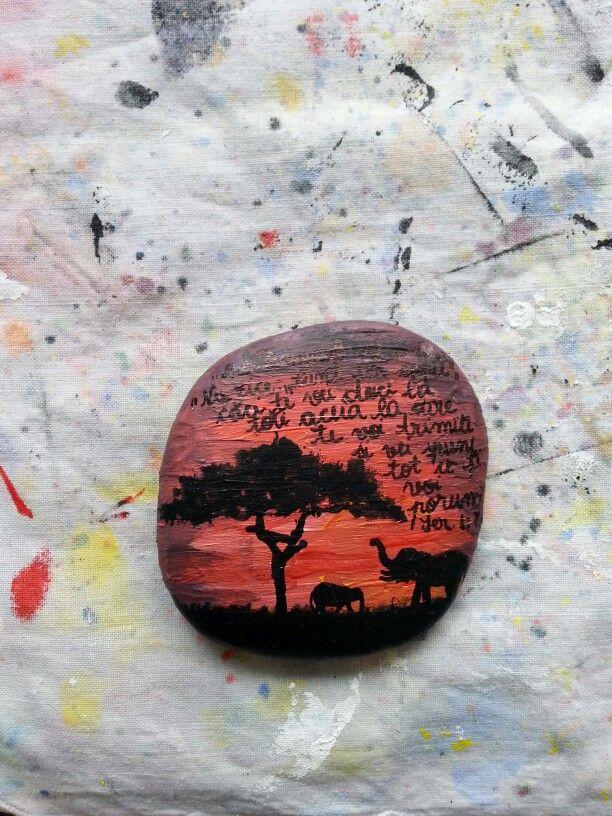 #handmade #painted #rock