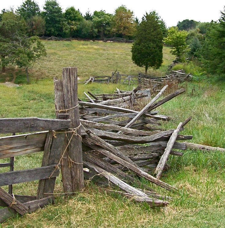 Split Rail Fence Gate Connection Point Plus Some Thoughts