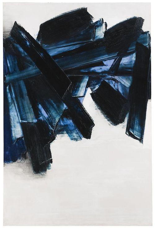 Peinture, Pierre Soulages, 1956.