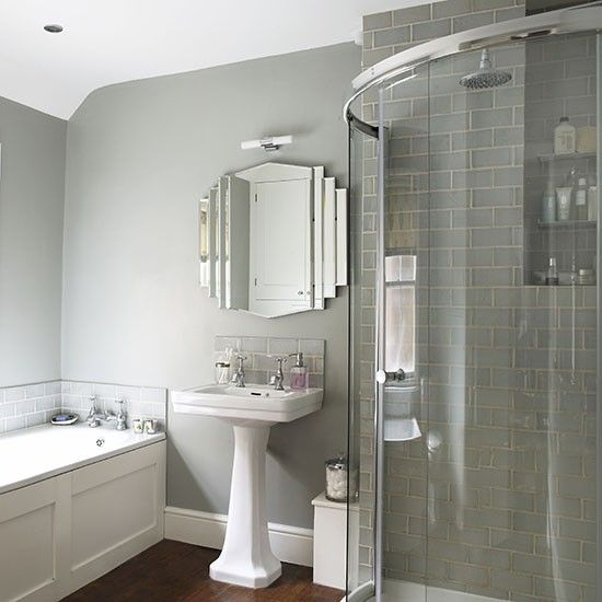 Art deco style | Shower rooms | Bathrooms | PHOTO GALLERY | Ideal Home | Housetohome.co.uk