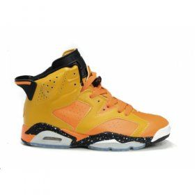 Air Jordan 6 (VI) Olympics Khaki Orange Black $86.00 www.jordanpatros.com/