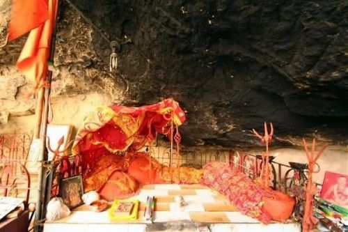 Dities In The Hinglaj Mata Temple
