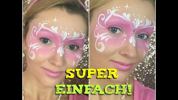 Süße Fee schminken | Fee Kinderschminken | Cute Fairy Facepainting - YouTube