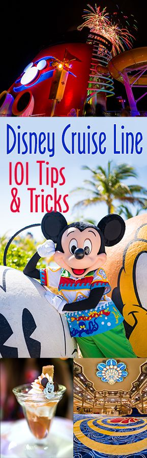 While Disney Cruise Line is a relatively hassle-free vacation, we have 101 tips & tricks that can save money and time. With our advice, your sailing ab