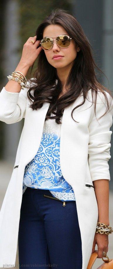 Womens fashion. Zara coat, MICHAEL Michael Kors Jet Set aviator sunglasses in gold